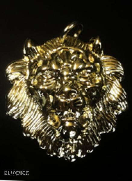 Massiver Lionhead Vergrößerung von After Show Gürtel