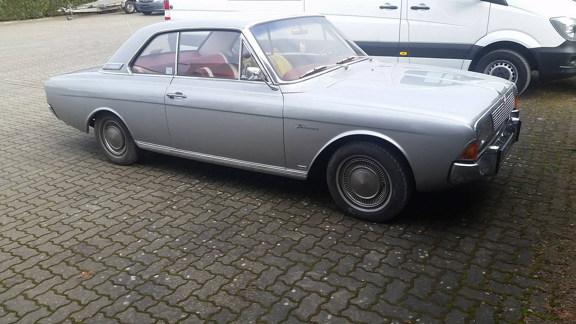 Ford P5 Hardtop V6 Coupe Bj 66