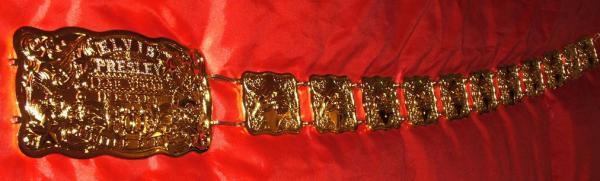 Gold belt Las Vegas plated with Stones
